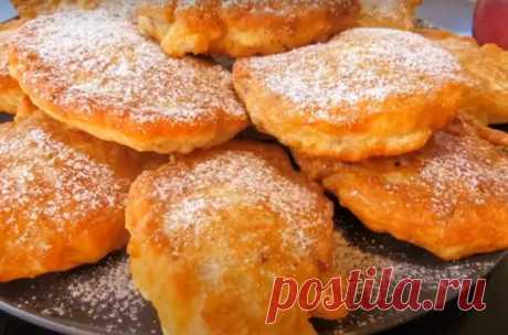 Вкуснейшие оладьи с яблоками - Вкусные рецепты - медиаплатформа МирТесен