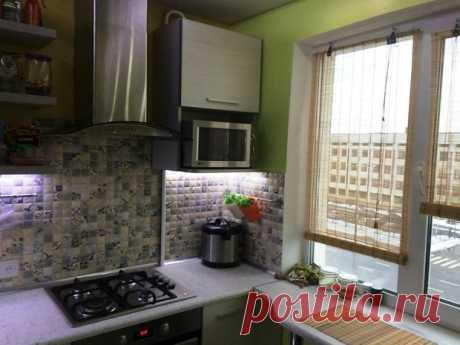 Кухня: пять квадратов для двоих