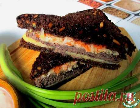 Сэндвич Рубен – кулинарный рецепт