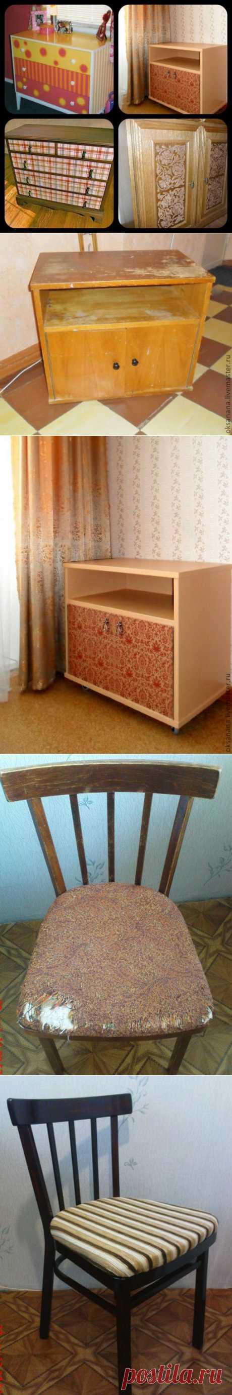 Обновление мебели. Подборка..