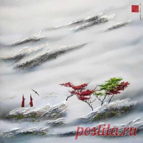 Полные спокойствия картины художника Martin Beaupre / Surfingbird знает всё, что ты любишь