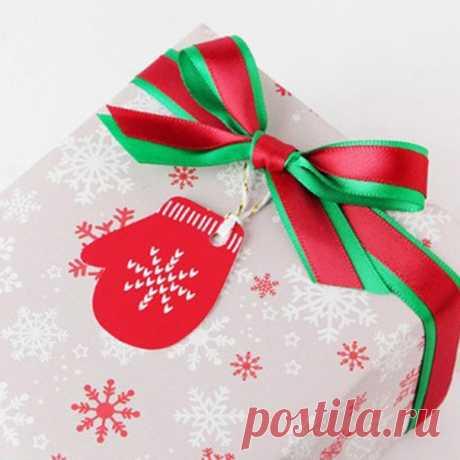 Рождественская бирка для украшения новогодних подарков партия 50 штук ===================== #alishopping  по ссылке https://s.click.aliexpress.com/e/cPChwS6m?product_id=..