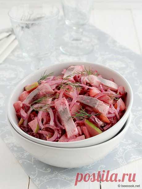 Heringssalat, салат из сельди | beecook.net