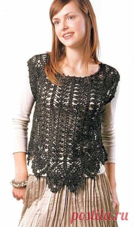 Openwork vest hook