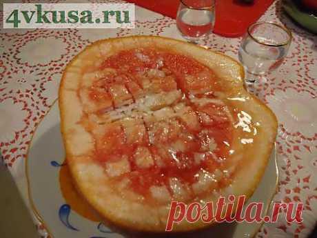 Десертный грейпфрут...)))