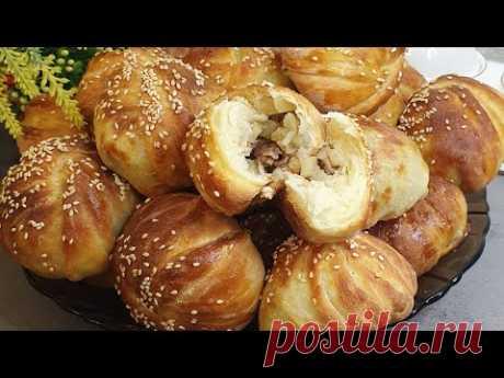 Samosa from yeast dough