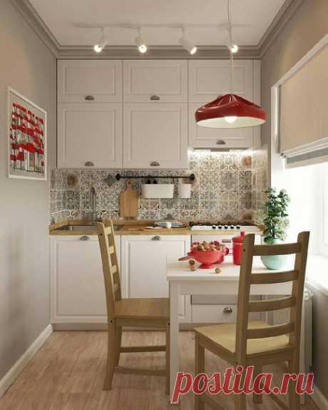 Уютная маленькая кухонька 6 кв.м