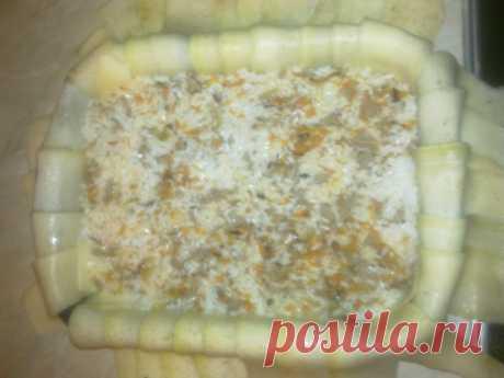 Блюдо из кабачков - Садоводка