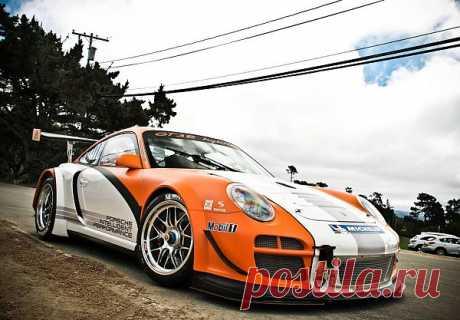 Porsche 911 GT3 R Hybrid (997) 2010 год