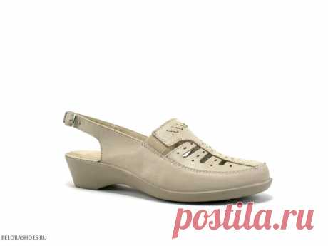 Туфли женские Росвест 618 Открытые летние туфли с перфорацией