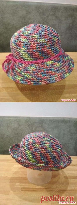 Шляпка из рафии - мой опыт вязания. - Вязание - Страна Мам