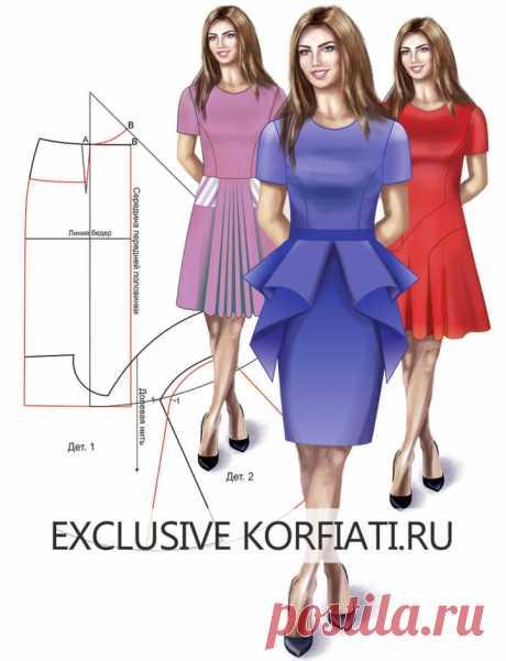 Детали платья - идеи моделирования от Анастасии Корфиати