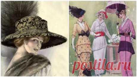 Воротнички-киллеры и ещё 4 странные модные тенденции, которые чтили 100 лет назад . Милая Я