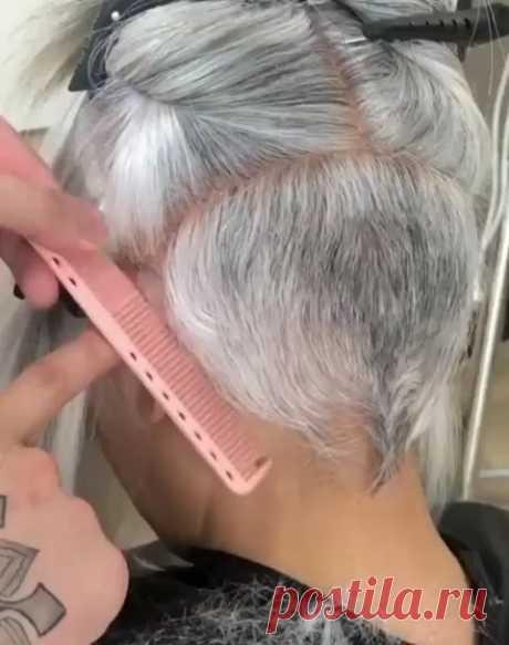 [Video] Pixie haircut I like.