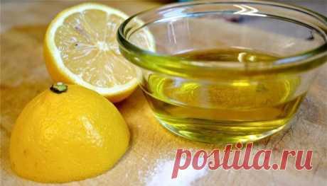 Что произойдёт с организмом если смешать лимон с оливковым маслом - Образованная Сова