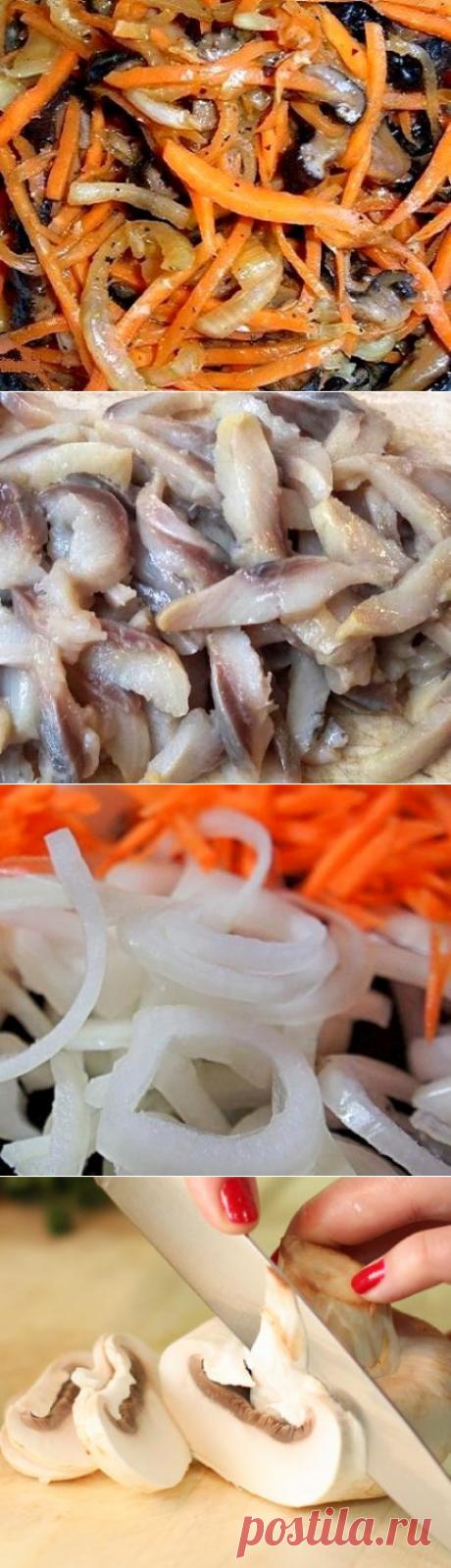 Литовский холодный салат-закуска с селёдкой силькие су сугунайс .