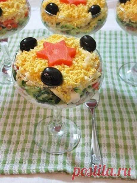 Салат с тунцом - Лучший сайт кулинарии