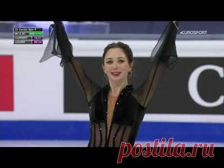 Елизавета Туктамышева, произвольная программа на чемпионате мира по фигурному катанию-2021