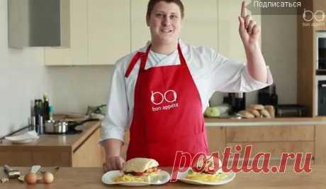 Чикенбургер по фирменному рецепту   БУДЕТ ВКУСНО!