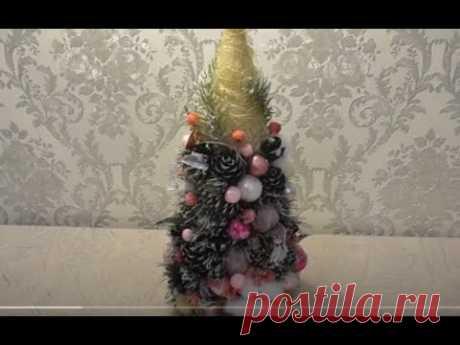 Новогодняя елочка своими руками. Новогодний декор дома.