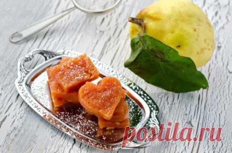 Мармелад из айвы в мультиварке - Бабушкины рецепты