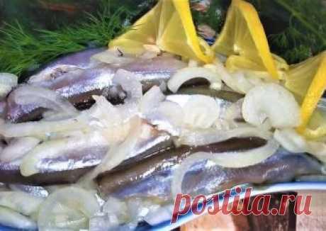 Мойва маринованная. Вкусный рецепт посола рыбы Автор рецепта Инна Рябченко - Cookpad