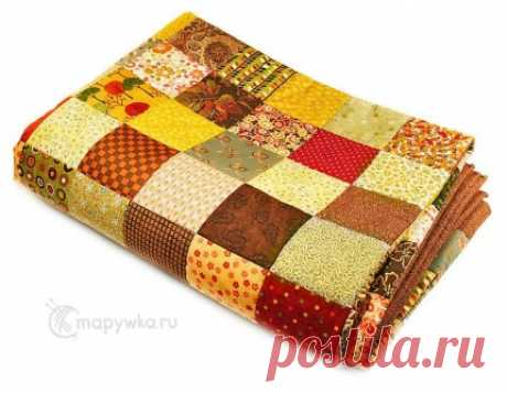 Пэчворк-покрывало - купить | Лоскутные одеяла (пэчворк) | HANDMADE интернет-магазин