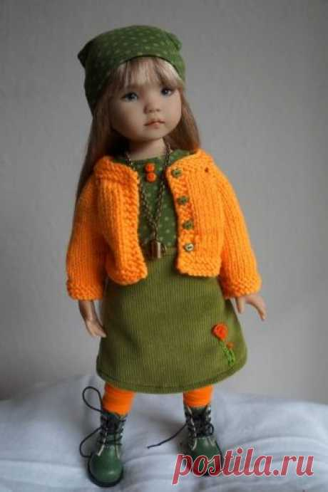 "Little Darling Dianna Effner outfit only 13"" home made by Oh My Dolls 
