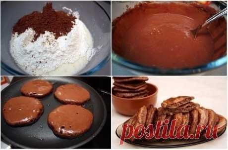 Диетические шоколадные сырники — Мегаздоров