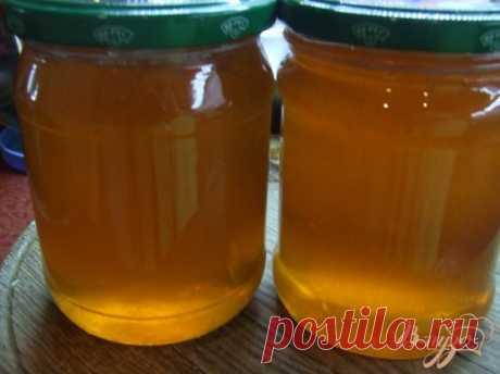 Яблочный «мёд».