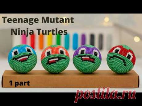 Teenage Mutant Ninja Turtles. Черепашки Ниндзя. Masterclass. 1 Part