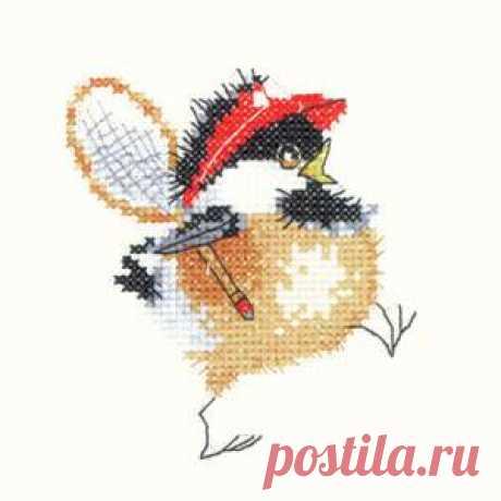 Забавные воробушки Валери Пфайфер: Тенисист.