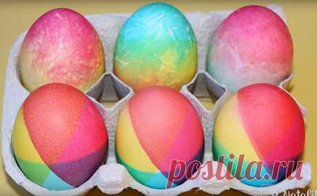 Como pintar los huevos a la Pascua