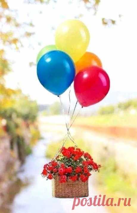 Пусть стучится радость в дом - утром, вечером и днём! 🎈