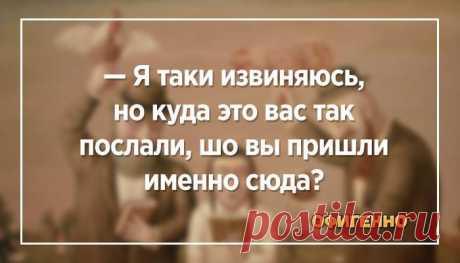 Убойные анекдоты из Одессы. Таки сделают вам смешно — Мужья, Фира, тоже таки бывают идеальными. Это вам любая вдова скажет! **** На Одесском рынке: — Скажите, чем вы кормите свою курицу? — А какая вам разница? — Я тоже хотела бы так похудеть! **** — Аб...