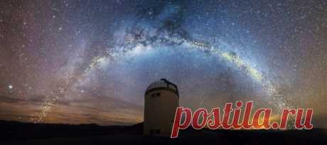 Учёные уточнили форму галактики Млечный Путь / Научный хит