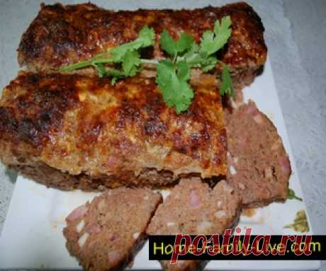 For those who likes to cook meat bread \/ Website with step-by-step recipes with a photo
