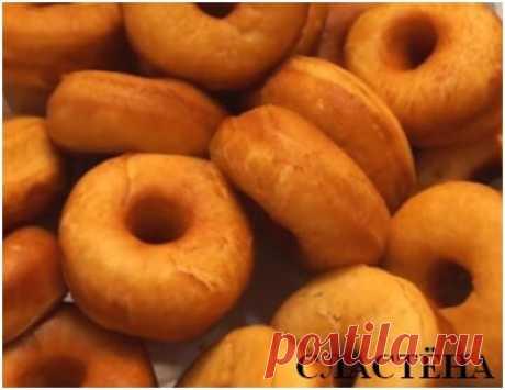 Сегодня к чаю вкусные, мягкие, воздушные пончики. Отличный рецепт | СЛАСТЁНА | Яндекс Дзен