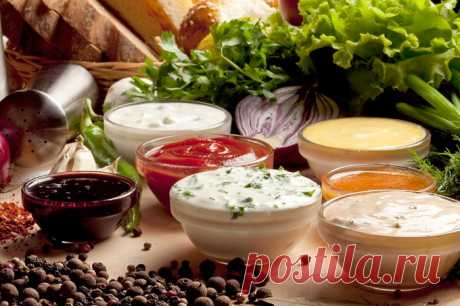 Sauces - 10 popular options