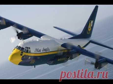 Винтовые самолеты посадки при боковом ветре (Компиляция)