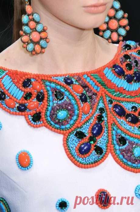 (58) Beadwork#Andrew Gn Spring 2009 Details | details...fashion
