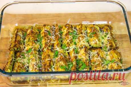 Вкуснейшие кабачки в духовке с зеленью, специями и сыром (Самый быстрый рецепт!) | Домашние рецепты с Любовью | Яндекс Дзен