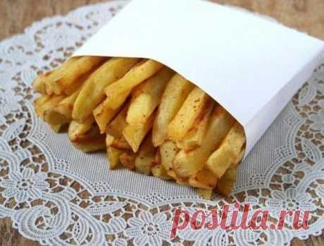 Как приготовить картофель-фри без масла — Делимся советами