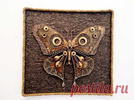 DIY/Steampunk Butterfly/Бабочка в стиле стимпанк