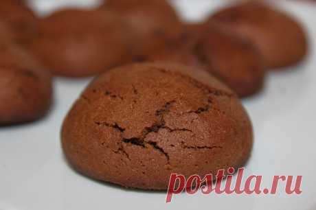Трюфельное печенье из рисовой муки. Без глютена.