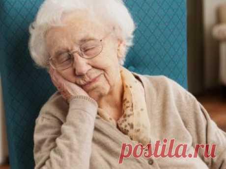 Исследователи: дремота опасна для здоровья пожилых людей - Новости медицины