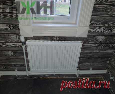Монтаж отопления в деревянном доме, фото 803