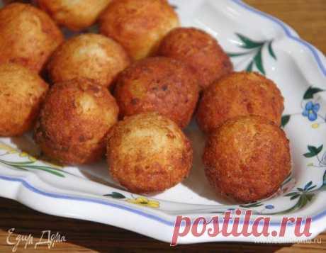 Картофельные пышки с сыром от Юлии Высоцкой: