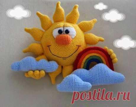 Кукляндия: Солнышко с радугой