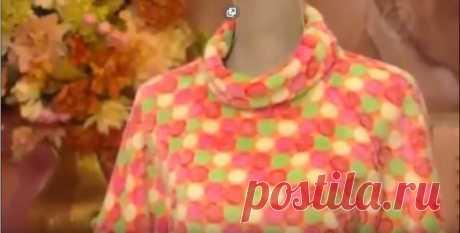 Plush dress from Olga Nikishicheva... https:\/\/youtu.be\/Ks7nHempzHo